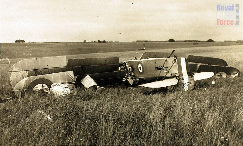 Fairey Fawn II J6990 - Crashed