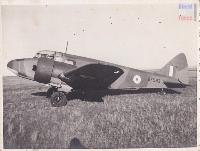 Airspeed Oxford 'BF983' of 1 Service Flying Training School, Point Cook, Victoria