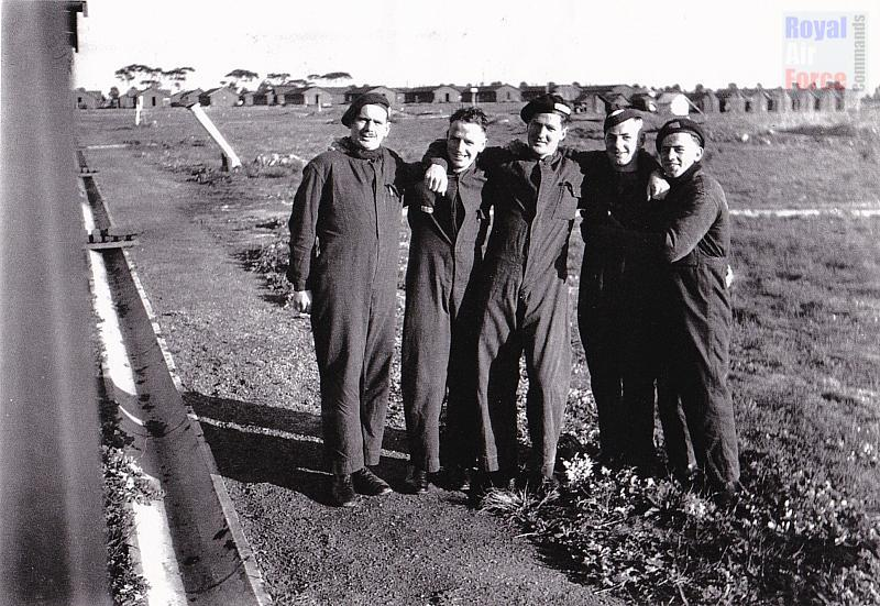 A photo of Jack's mates from 1 SFTS, Point Cook, Victoria - none would survive the war
