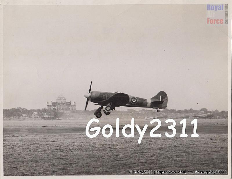 Tempest PR652 Landing