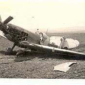 Wrecked Spitfire - Tail chewed up 2