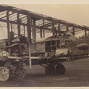 Burnt out Vickers Virginia