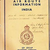 Air Routes India (229 Group - Transport Command)