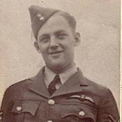 Flight Sergeant Frank Fahy in 1942-1943 aged 21 or 22. Served in 65 squadron in the UK
