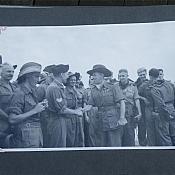 2827 Sgt Alex Calvert and AVM Bouchier