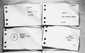 The AIR78 airmen index cards